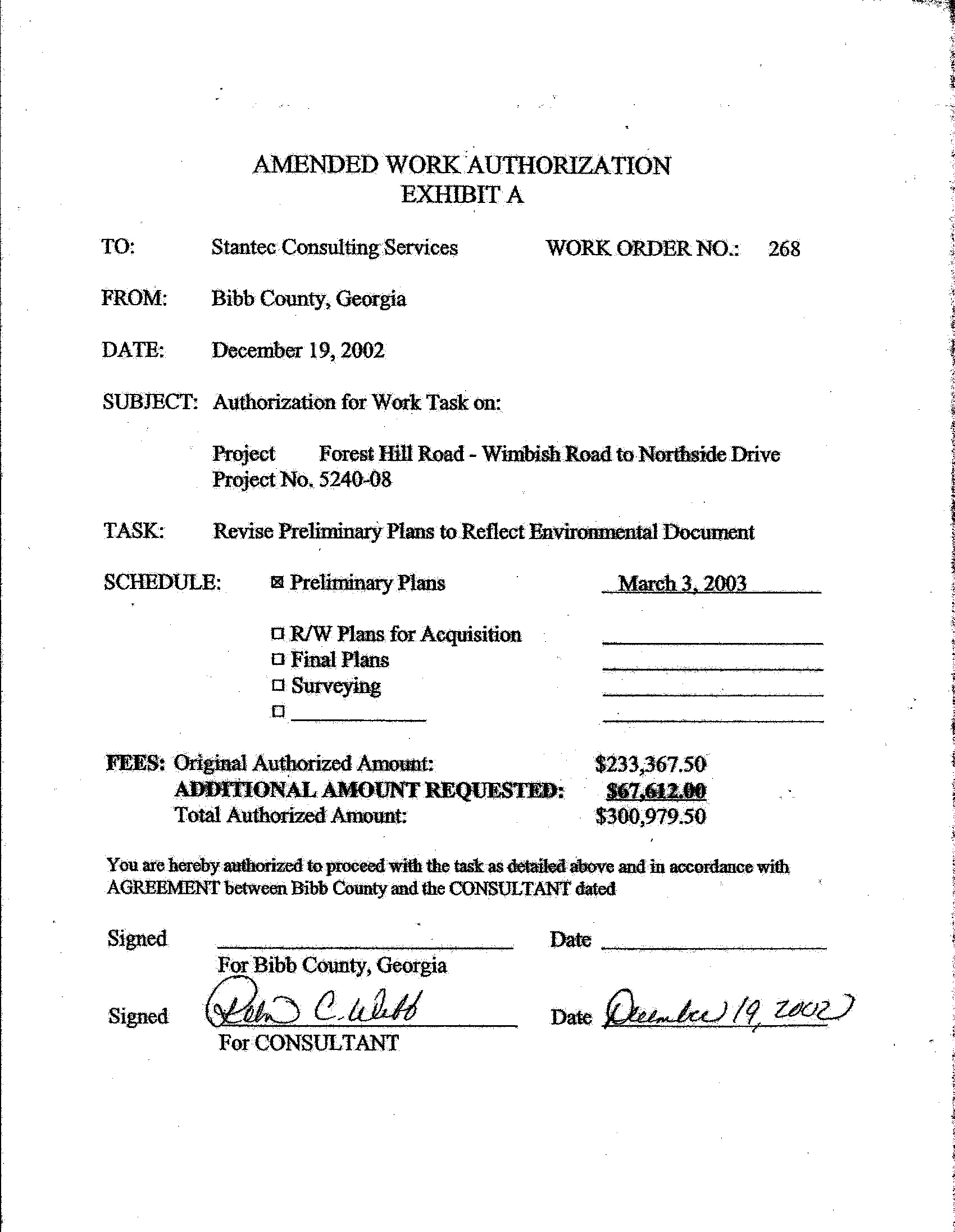 Elmo Richardson Letters Conflicts of Interest in Bibb County GA – Subcontractor Agreements