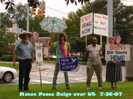 Peace on Fridays in July 2007