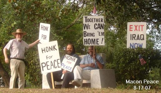 Peace on HOT Fridays in August 2007