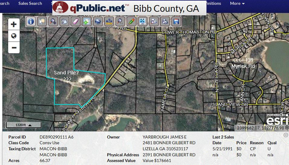 Ocmulgee District Soil And Water Silting Of Tobesofkee
